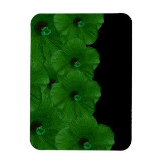Vibrerande gröntblommor magnet