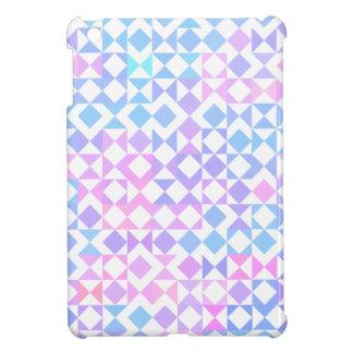 Vibrerande nätt geometriskt fodral för iPad mini skal