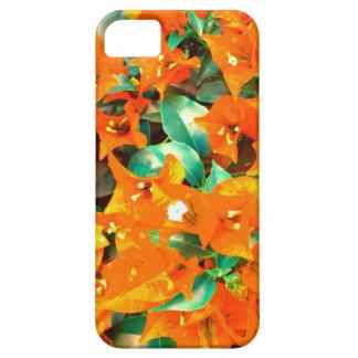 Vibrerande orange Bougainvilleablommor iPhone 5 Case-Mate Skal
