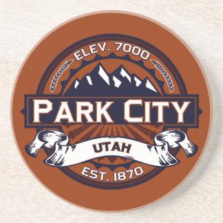 Vibrerande Park City logotyp Underlägg
