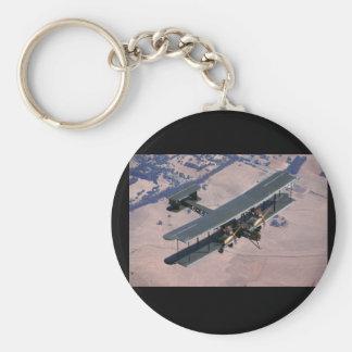 Vickers Vimy kopia, flyg 1994_Classic Rund Nyckelring