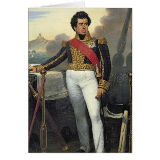 Victorgrabb, baron Duperre, 1832 Hälsningskort