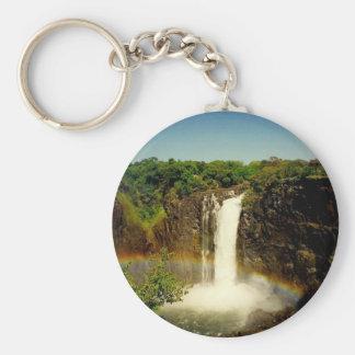 Victoria Falls Rund Nyckelring