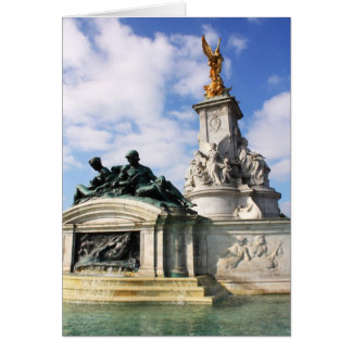 Victoria minnesmärke, London Hälsningskort