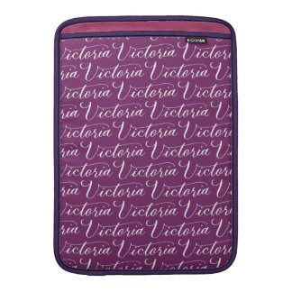Victoria - modern Calligraphynamndesign MacBook Air Sleeve
