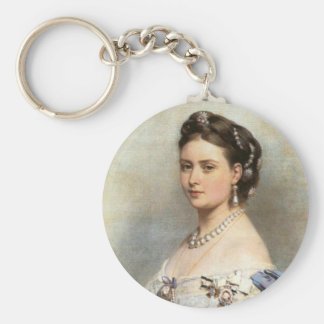 Victoria Princess royal Rund Nyckelring