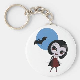 Victoria vampyren rund nyckelring