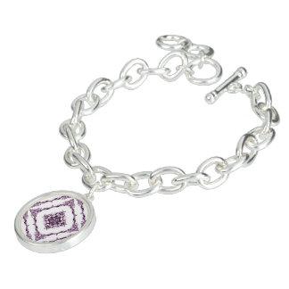 Victorian inspirerad purpurfärgad armband