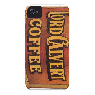 Victorianadvertizingbiet - Lord Calvert Kaffe iPhone 4 Case-Mate Fodral