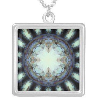 Victoriandrottningdaisy Silverpläterat Halsband