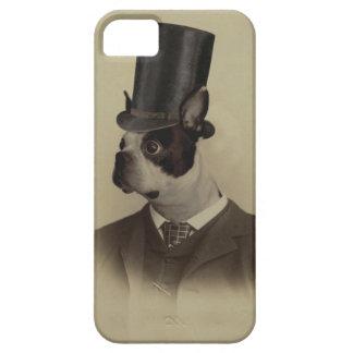 Victorianeraboston terrier iPhone 5 cover
