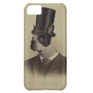 Victorianeraboston terrier iPhone 5C fodral