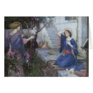 Victoriankonst, Annunciation vid JW-waterhousen Hälsningskort