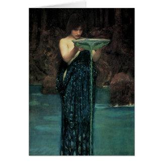 Victoriankonst, Circe Invidiosa vid waterhousen Hälsningskort