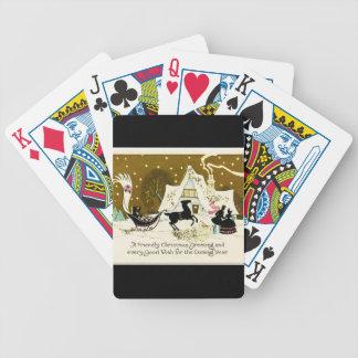 Victorianlandjul Spelkort