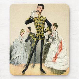 Victoriansoldat av de 10th kungliga hussarsna musmatta