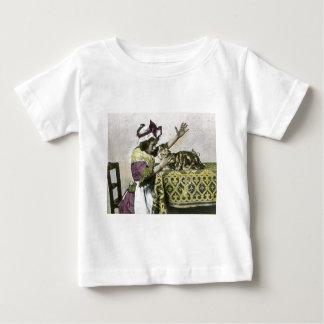 VictorianTea Time med vintage för kattungeTeaparty T Shirts