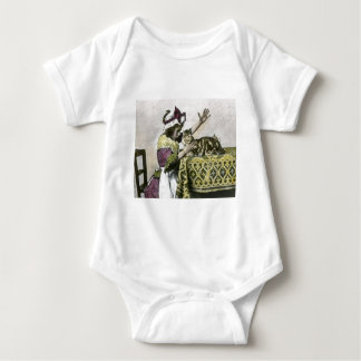 VictorianTea Time med vintage för kattungeTeaparty Tee Shirts
