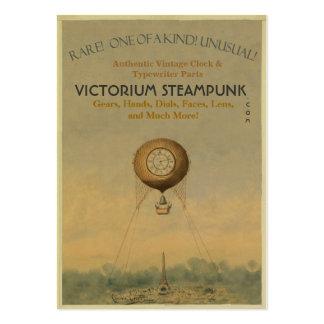 Victorium Steampunk Set Av Breda Visitkort
