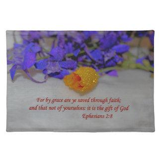 Vid nåd - Ephesians 2:8 Bordstablett