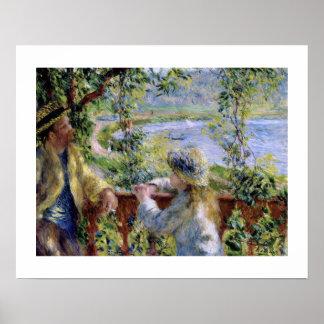 """Vid vatten"" by vid Pierre-Auguste Renoir Poster"