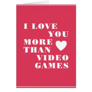 Videogames Hälsningskort