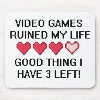Videospel fördärvade min livstil 1 mus matta