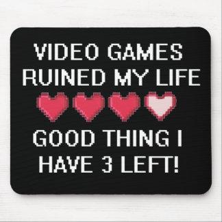 Videospel fördärvade min livstil 1 mus mattor