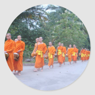 Vientiane Runt Klistermärke