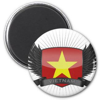 VIETNAM MAGNET RUND 5.7 CM