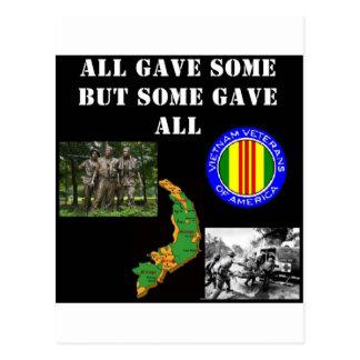 Vietnam minne vykort