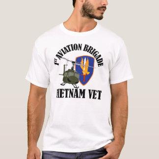 Vietnam Vet - 1st AVNBDE UH-1 Tee