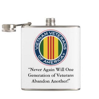 Vietnam veteran av den Amerika flaskan Fickplunta