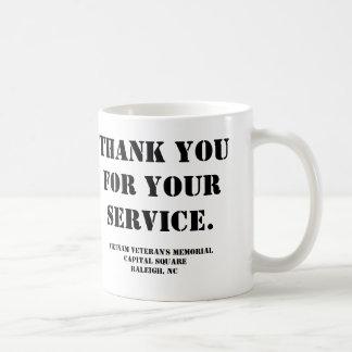 Vietnam veteran minnesmärke kaffemugg