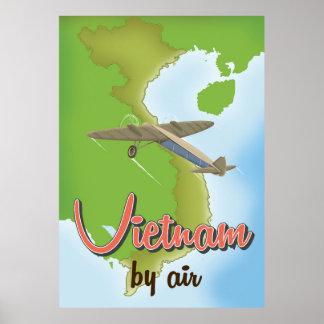 Vietnam vintage resoraffisch poster