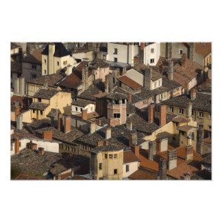 Vieux Lyon gammala Lyon), frankriken Fototryck