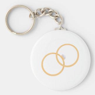 Vigselringar Nyckel Ring