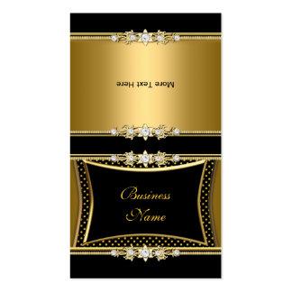 Vik över den eleganta guldsvartjuveln avbildar pri visitkort