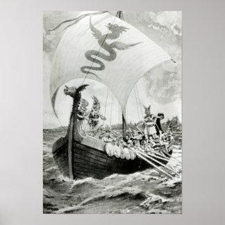 Viking anfallare poster