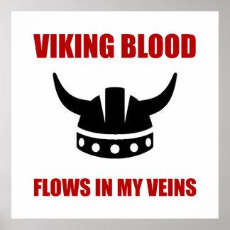Viking blod poster