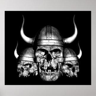 Viking döskallar posters