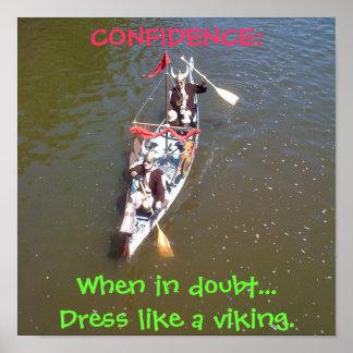 Viking förtroende print