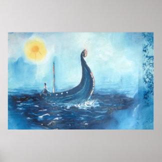 Viking frakt affisch