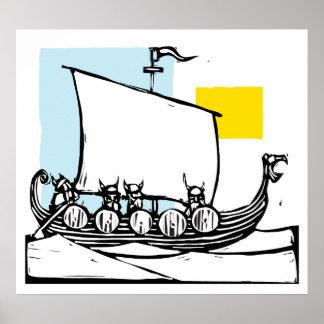 Viking frakt posters