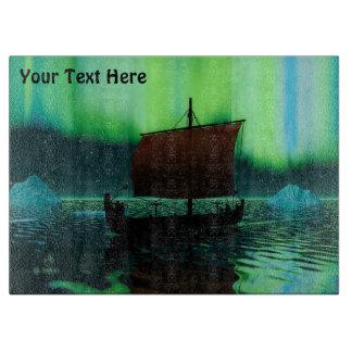 Viking frakt och nordligt ljus
