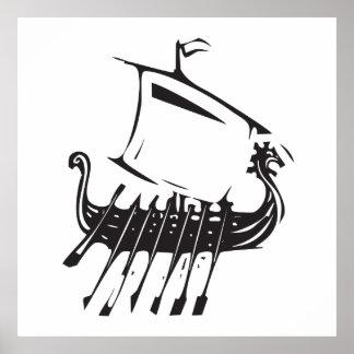 Viking frakt poster