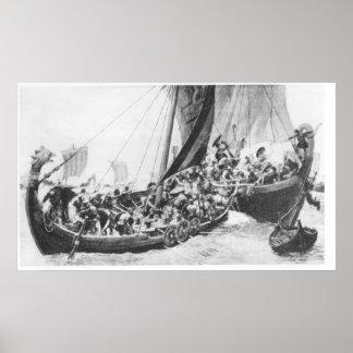 Viking frakter affisch
