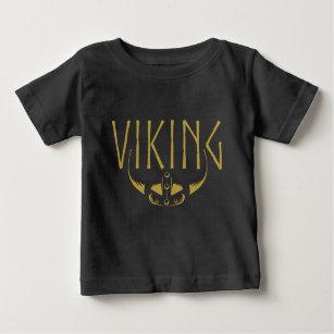 Viking Guld Horned Helmet Baby T-shirts