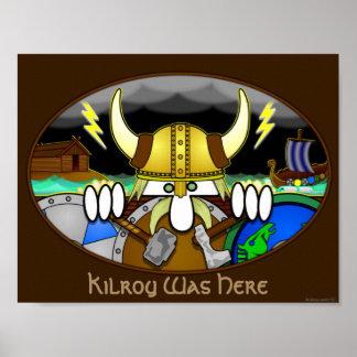 Viking Kilroy affisch 1