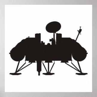 Viking Lander Poster